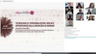 Tecnologica e personalizzata: rischi e opportunità della medicina di domani - Laboratorio interattivo