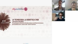 La tecnologia, la didattica e noi - Laboratorio interattivo