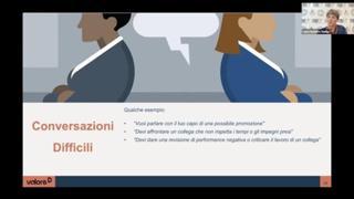 I webinar di Valore D, «Istruzioni per conversazioni cruciali»